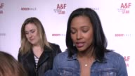 INTERVIEW Kylie Bunbury on how it felt to be selected by AF her favorite things about the brand what it was like working with Bruce Weber for the...