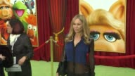 Kym Johnson at the The World Premiere of Walt Disney's 'The Muppets' at Hollywood CA