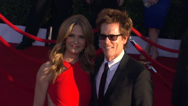 Kyra Sedgwick Kevin Bacon at 18th Annual Screen Actors Guild Awards Arrivals on 1/29/12 in Los Angeles CA