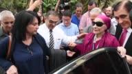 La bailarina cubana Alicia Alonso de 96 anos recibio el miercoles un doctorado honoris causa de la Universidad de Costa Rica por su papel como...