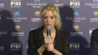 La cantante colombiana Shakira anuncio el martes en Espana que su Fundacion Pies Descalzos construira una nueva escuela para niños pobres en su natal...