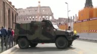 La capital de Italia se prepara para un fuerte operativo de seguridad ante la llegada de los 27 jefes de estado y de gobierno para las celebraciones...