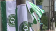 La Conmebol proclamo campeon de la Copa Sudamericana 2016 al Chapecoense tras el accidente aereo que dejo 71 muertos la mayoria del club brasileno...
