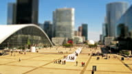 La Defense miniature model time-lapse