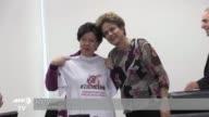 La directora general de la Organizacion Mundial de la Salud Margaret Chan visito el martes Brasil centro global de la epidemia de zika y senalo que...