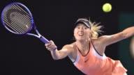 La ex numero uno mundial Maria Sharapova admitio este lunes haber dado positivo en un control antidopaje en el pasado Abierto de Australia
