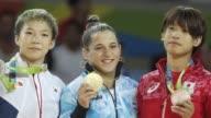 La judoca Paula Pareto se convirtio en la primera mujer argentina en coronarse campeona olímpica al ganar la medalla dorada en la categoria de 48kg...