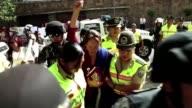 La justicia ecuatoriana nego este lunes la deportacion de la periodista y activista francobrasilena Manuela Picq quien fue detenida durante las...