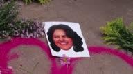 La laureada dirigente indigena ambientalista Berta Caceres fue asesinada a tiros la madrugada de este jueves por desconocidos