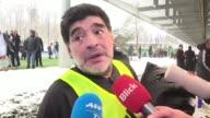 La leyenda del futbol argentino Diego Maradona opino el lunes que aumentar de 32 a 48 la cantidad de equipos que compitan por la Copa del Mundo una...