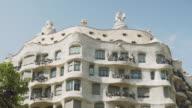 La Pedrera Casa Mila Barcelona, Gaudi building. Unesco world heritage.
