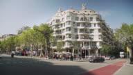La Pedrera Casa Mila Barcelona, Gaudi building. Unesco world heritage building.