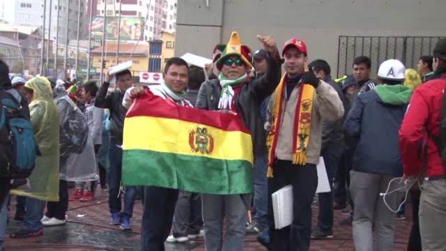 La seleccion boliviana de futbol derroto el martes en La Paz a Argentina afectada por la ausencia de Lionel Messi quien fue suspendido por la FIFA...