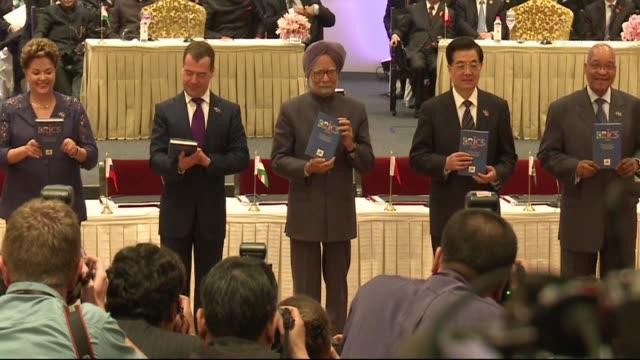 IV Cumbre de los BRICS on March 29 2012 in India