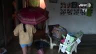 La tormenta Marty causo intensas lluvias en el estado Guerrero sur de Mexico dejando a su paso casas y carreteras inundadas