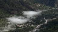 La Valette And Valley  - Aerial View - Provence-Alpes-Côte d'Azur, Alpes-de-Haute-Provence, Arrondissement de Castellane, France