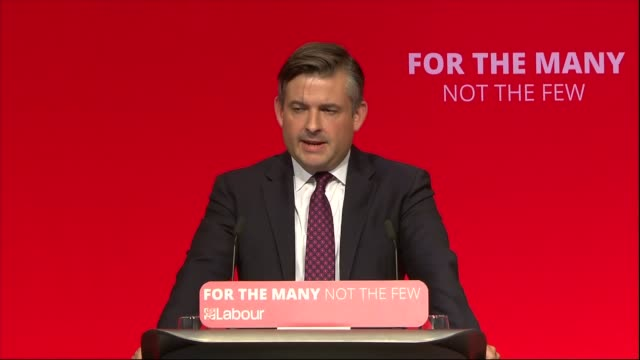 Jon Ashworth speech ENGLAND West Sussex Brighton INT Jon Ashworth MP speech SOT