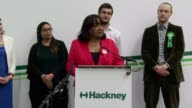 Labour Diane Abbott declaration in Hackney North ENGLAND London Hackney INT Candidates on platform for Hackney North and Stoke Newington declaration...