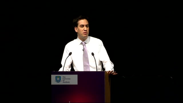 Labour Leader Ed Miliband keynote speech The 1945 settlement was a revolution in the political economy of this country People thought in the 1930s...