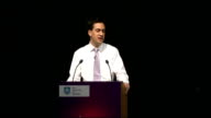 Labour Leader Ed Miliband keynote speech want to talk about an interview I did on Today with John Humphries It was just after I became leader and had...