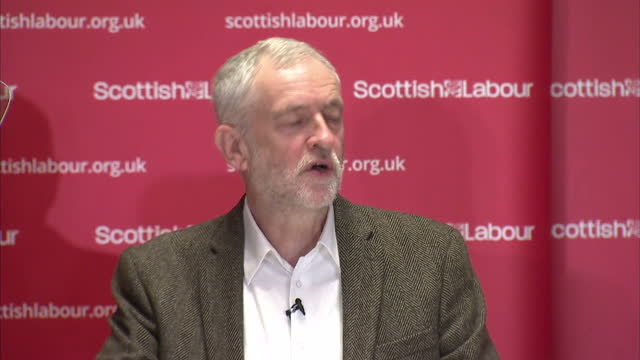 Labour Leader Jeremy Corbyn has used his first speech in Scotland in 2017 to attack the Scottish National Party's budget plans Grab from Jeremy...