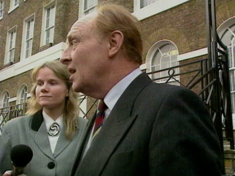 Labour leader Neil Kinnock expresses his opinion on John Major becoming the new Prime Minister following Margaret Thatcher's resignation 28 Nov 1990