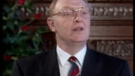 Labour Leader Neil Kinnock has announced his resignation as Labour Party leader after defeat to the Conservative in the General Election and blamed...