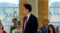 Ed Miliband speech Ed Miliband speech continued SOT The only way to win back power is to move on/ analysis of why we lost General Election/ Challenge...