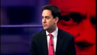 Live debate with candidates Ed Miliband MP interview SOT Think Tony Blair is wrong think he is a great politician that has served our country and our...