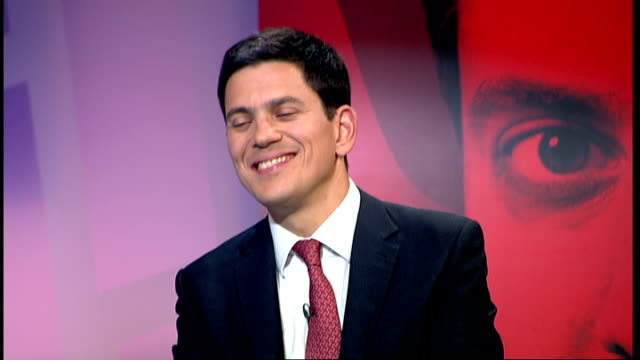 Live debate with candidates On second preferences for Labour leadership contest SOT Ed Miliband interview SOT David David Miliband interview SOT Ed...