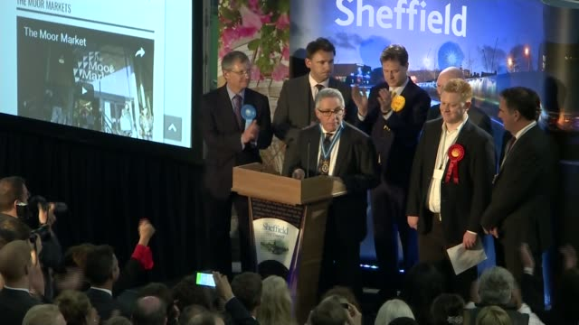 Labour MP Jared O'Mara under investigation over alleged offensive comments LIB / 962017 Sheffield INT Returning officer announcing election winner in...