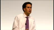 Ed Miliband takes part in QA session Ed Miliband answering questions SOT On what he would do to get lapsed supporters back in the fold I stand for...