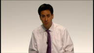 Ed Miliband takes part in QA session Ed Miliband answering questions SOT On the Robin Hood tax / financial transactions tax we're in favour of this...