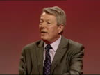Alan Johnson speech Alan Johnson MP speech SOT Too many patients feel insecure in hospital because of their fear of infection / Hospitalacquired...