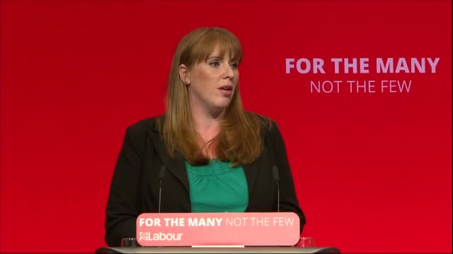 Angela Rayner speech ENGLAND West Sussex Brighton INT Angela Rayner MP speech SOT re National Education Service