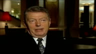 Bill Clinton praises Government Manchester Alan Johnson MP interview SOT I think yesterday really ended any debate that anyone is talking for the...
