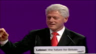 Bill Clinton speech When UK leads G8 in promising to increase debt relief you should stand firm for it make sure it's a voting issue where you live...