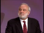 Crime/Health ITN ENGLAND Bournemouth Frank Dobson MP speech SOT It is right that junior doctor's hours are coming down and the number of recruits to...
