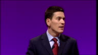 David Miliband speech If you just draw a straight line from today to the future the fatalists say you will get chaos but there is a different story a...