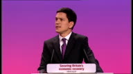 David Miliband speech The Tories are not a government in waiting They are a national embarrassment David Cameron has shown not leadership but...