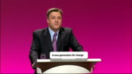 Ed Balls speech Ed Balls speech SOT And yet having spent the last four months travelling around the UK as a candidate for the leadership of our party...