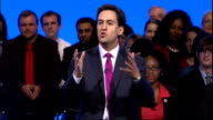 Ed Miliband speech Ed Miliband MP keynote speech SOT It is great to be in Labour Manchester And you know Manchester has special memories for me...