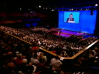 Gordon Brown's keynote speech Gordon Brown MP speech SOT A strong Britain is a Britain of strong communities whereby accepting our mutual obligations...