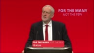 Jeremy Corbyn keynote speech ENGLAND East Sussex Brighton INT Jeremy Corbyn MP shaking hands as arrives Corbyn greeting supporters as along in...