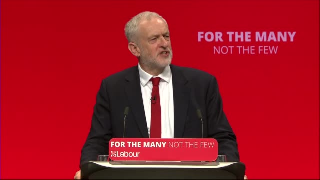 Jeremy Corbyn speech Jeremy Corbyn MP speech SOT re public sector paycap / austerity / tuition fees / Labour manifesto / party members / media owner...