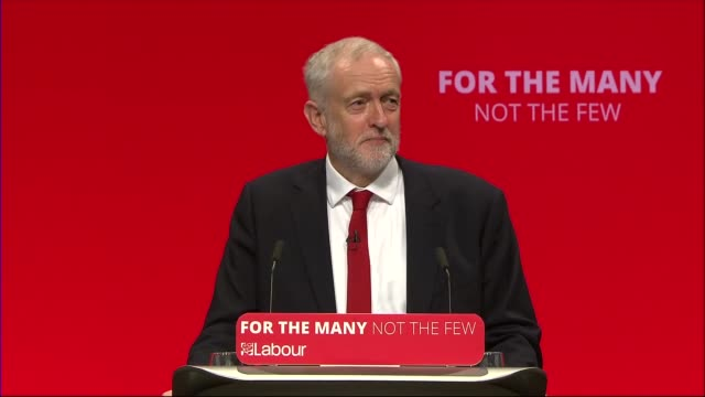 Jeremy Corbyn speech Jeremy Corbyn MP speech SOT re emergence of authoritarian nationalism / dominance of the elite / democracy / terrorism