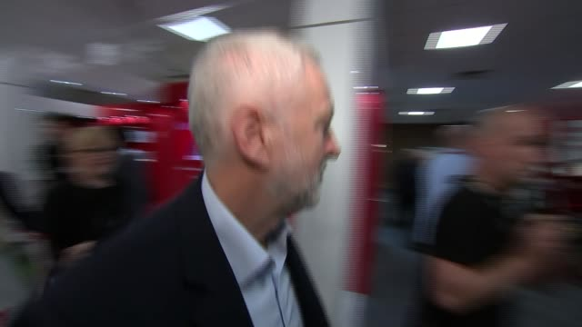John McDonnell promises to nationalise Private Finance Initiative projects West Sussex Brighton INT Jeremy Corbyn along Corbyn moving shuffle piece...