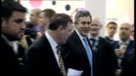 Electoral Commission refer case to the police Excel Centre INT Brown and Cooper at Thames Gateway exhibition ENDS