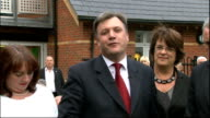 Ed Balls announces he will stand Ed Balls press conference SOT We have a leadership election I am going to put my name in for the Labour Party...