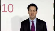 Ed Miliband speech Miliband speech SOT And that takes me to the issue of party reform Party reform is essential for us and it is about being rooted...
